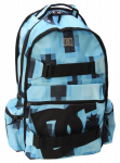 DC Stratford Blue Skateboard Backpack