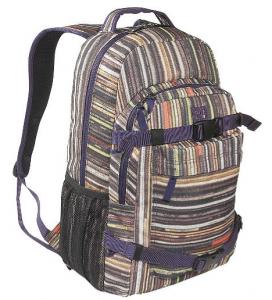 Dc Enroll Skateboard Backpack With Skate Holder Straps