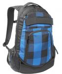 Dakine Blue Plaid Varial Skateboard Backpack