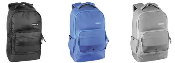 Supra Odyssey Skateboard Backpacks Blue Black and Grey
