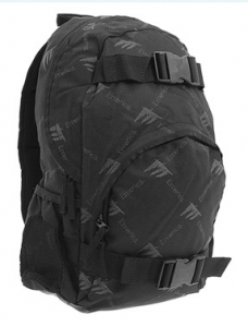 Emerica Black e-Scribble Skate Backpack