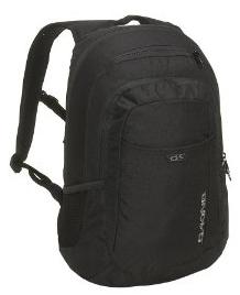 Solid Black Dakine Skate Backpack