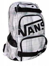 Vans Treflip Backpack Black and White Plaid