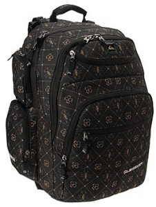 Quiksilver Graduate Backpack Front Side