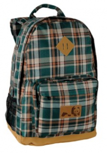 Enjoi Simple Pleasures Plaid Skate Backpack