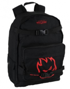Mens Spitfire Fire Head Skater Backpack