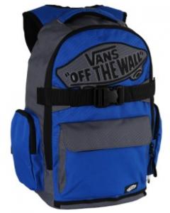 Vans Underhill Blue Gray and Black Skateboard Backpack