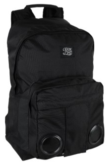KREW Skateboard backpack with built in speakers